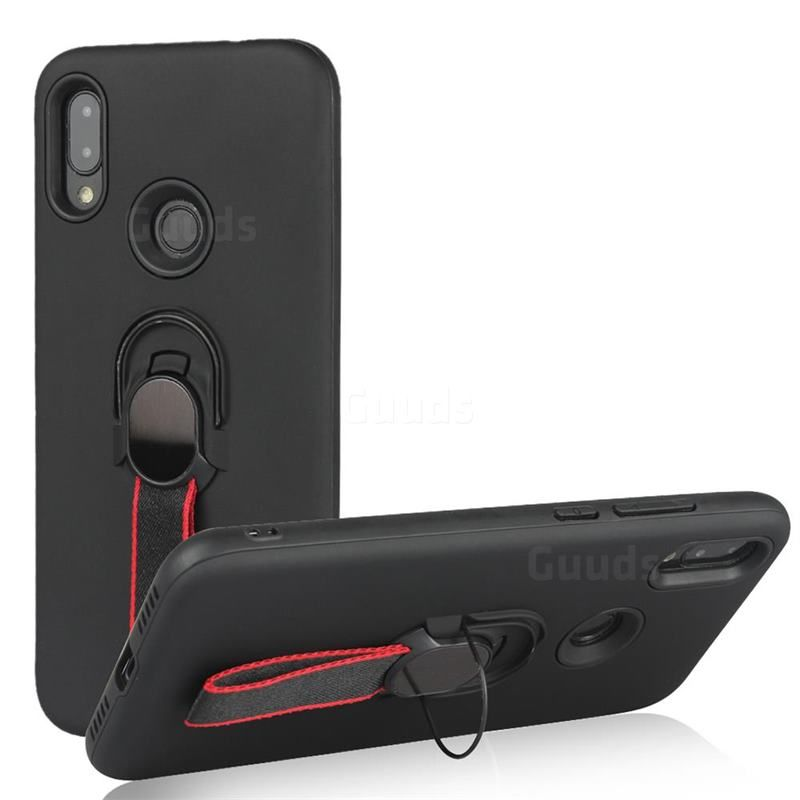 Raytheon Multi Function Ribbon Stand Back Cover For Xiaomi Mi Redmi Note 7 Note 7 Pro Black Xiaomi Redmi Note 7 Note 7 Pro Cases Guuds Magnetic Car Holder Car Holder Xiaomi