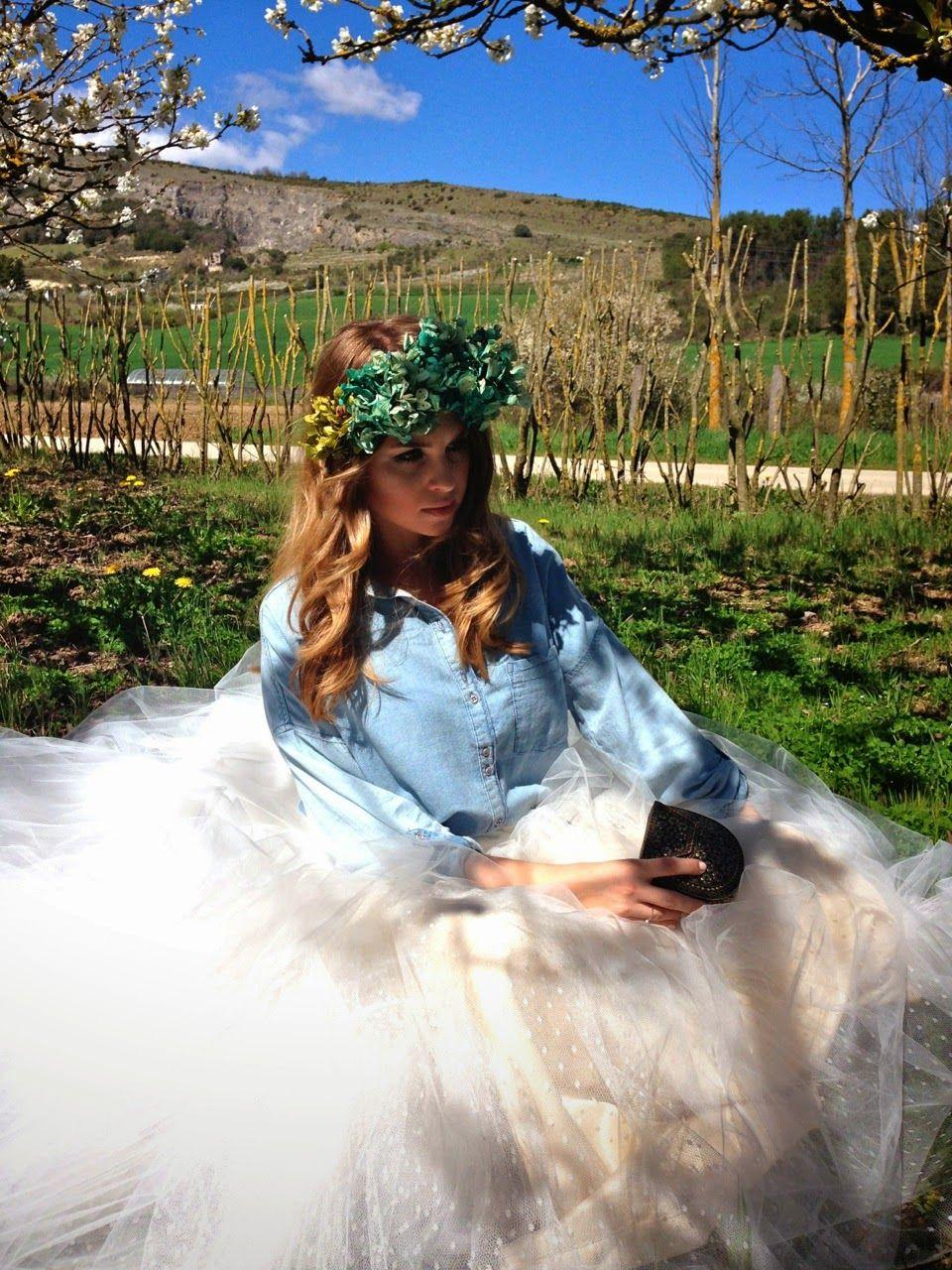 Flores para el look de la novia de adriana tocados http://lawebdeadriana.com/