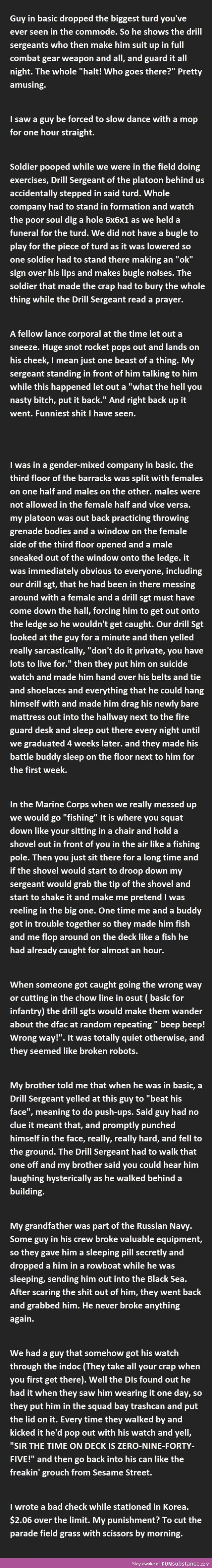 20 Funny Military Punishments (Part 2) #coupon code nicesup123 gets 25% off at www.Provestra.com www.Skinception.com and www.leadingedgehealth.com