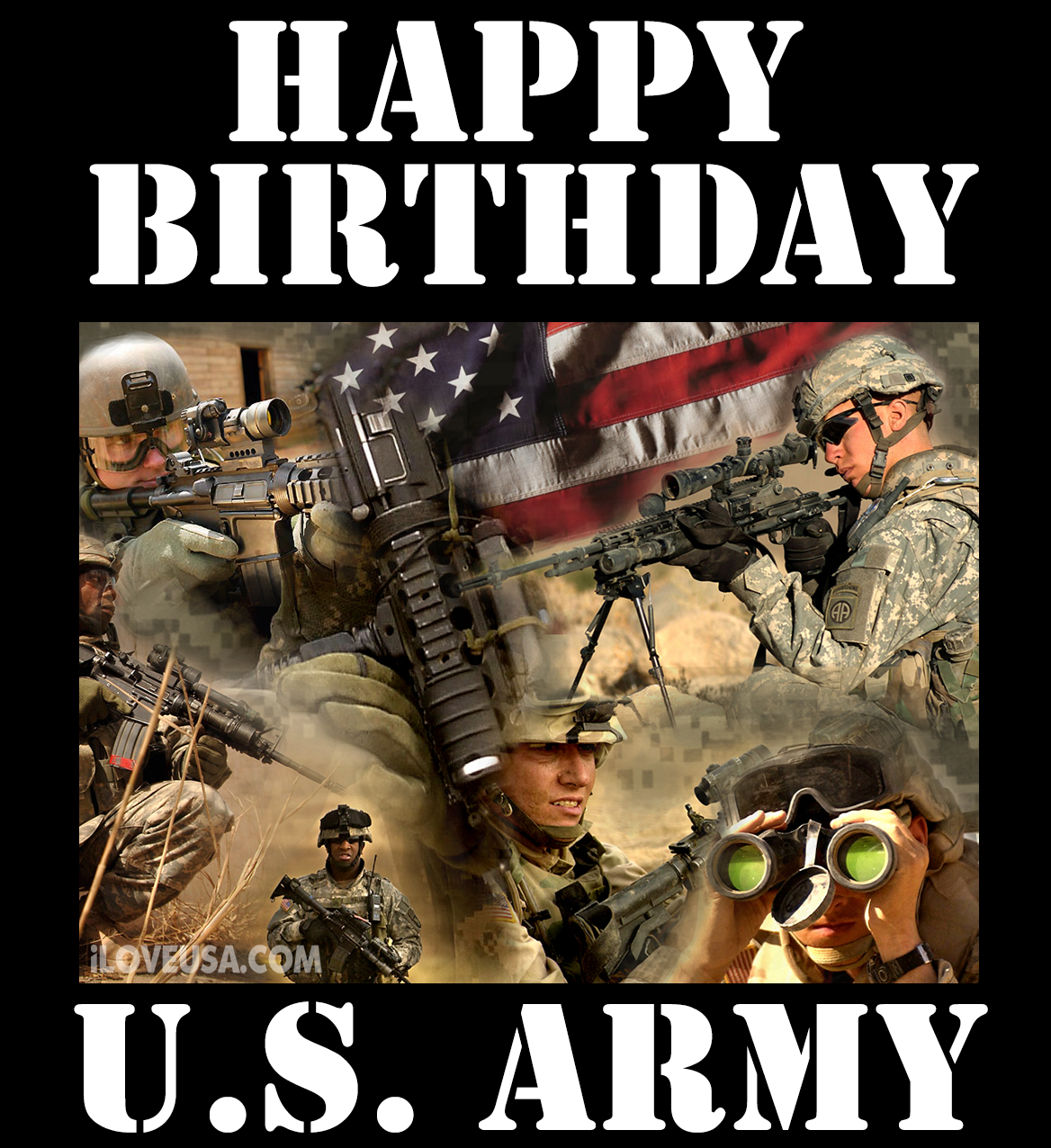 The U.S. Army Has Served This Great Country For 239 Years