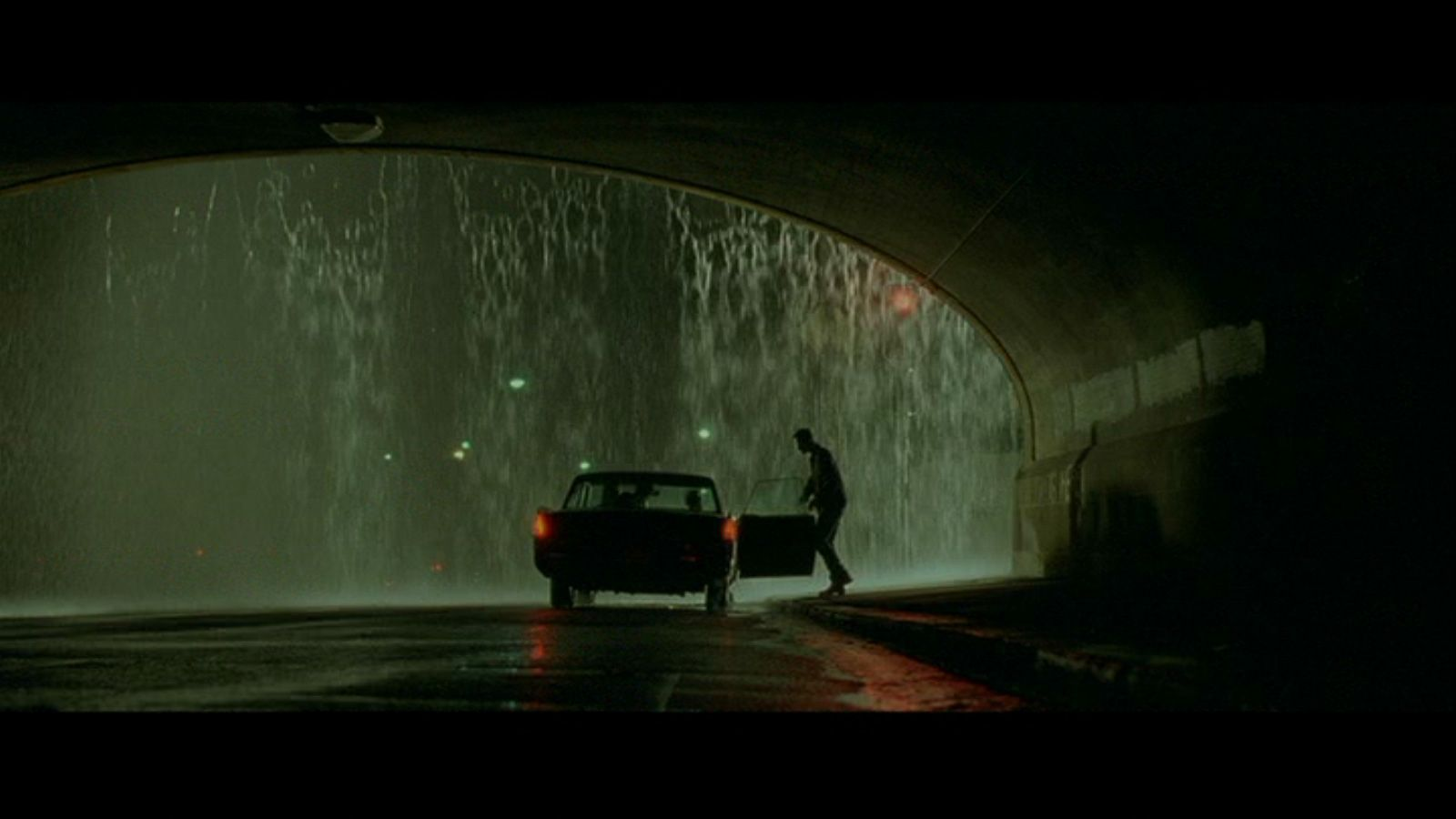"""""""The Matrix""""- Directed by Andy & Lana Wachowski- Cinematographer: Bill Pope."""