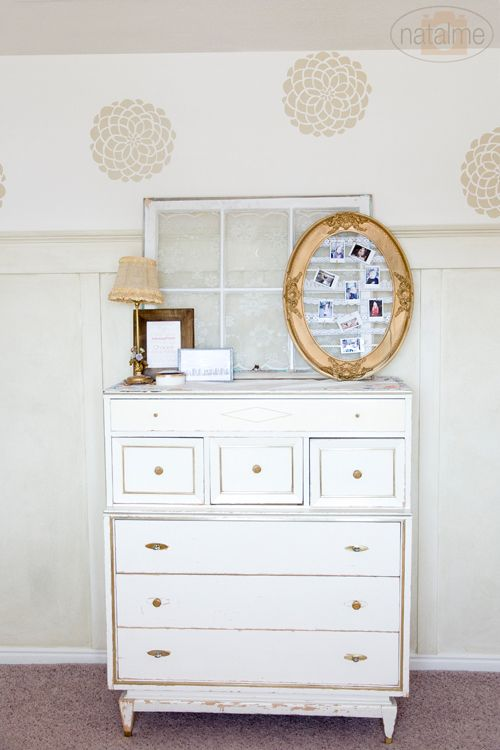 This Refurb Chest And Mirror Are Great For A Girls Room