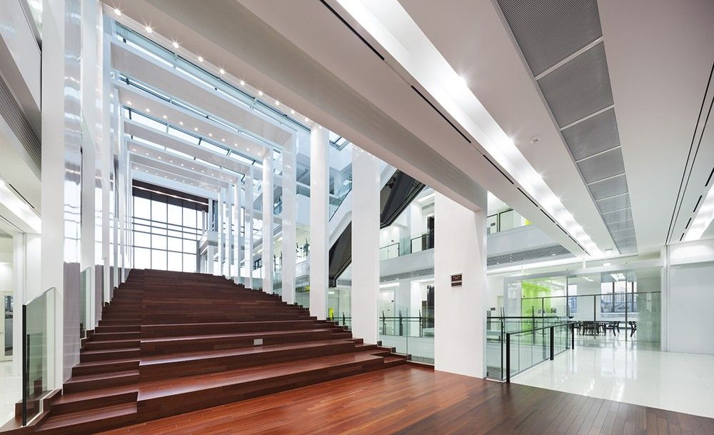 Korea University Business School Hyundai Motor Hall By Samoo Architects Engineers In Seoul South Korea