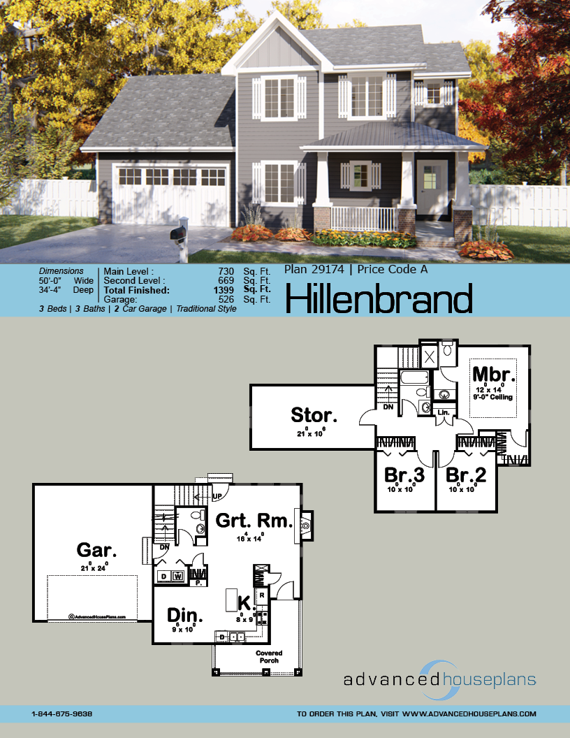 Hillenbrand 2 Story Traditional House Plan Traditional House