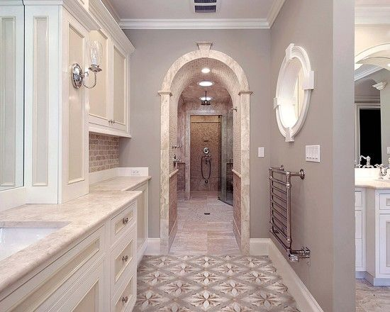 Luxury Bath Similar Wall Paint Color Is Sw 7632 Modern