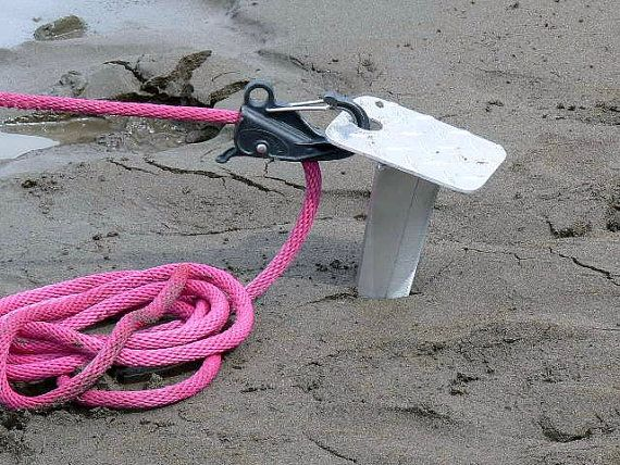 The Ultimate Beach Anchor For Your Boat Jet Ski House