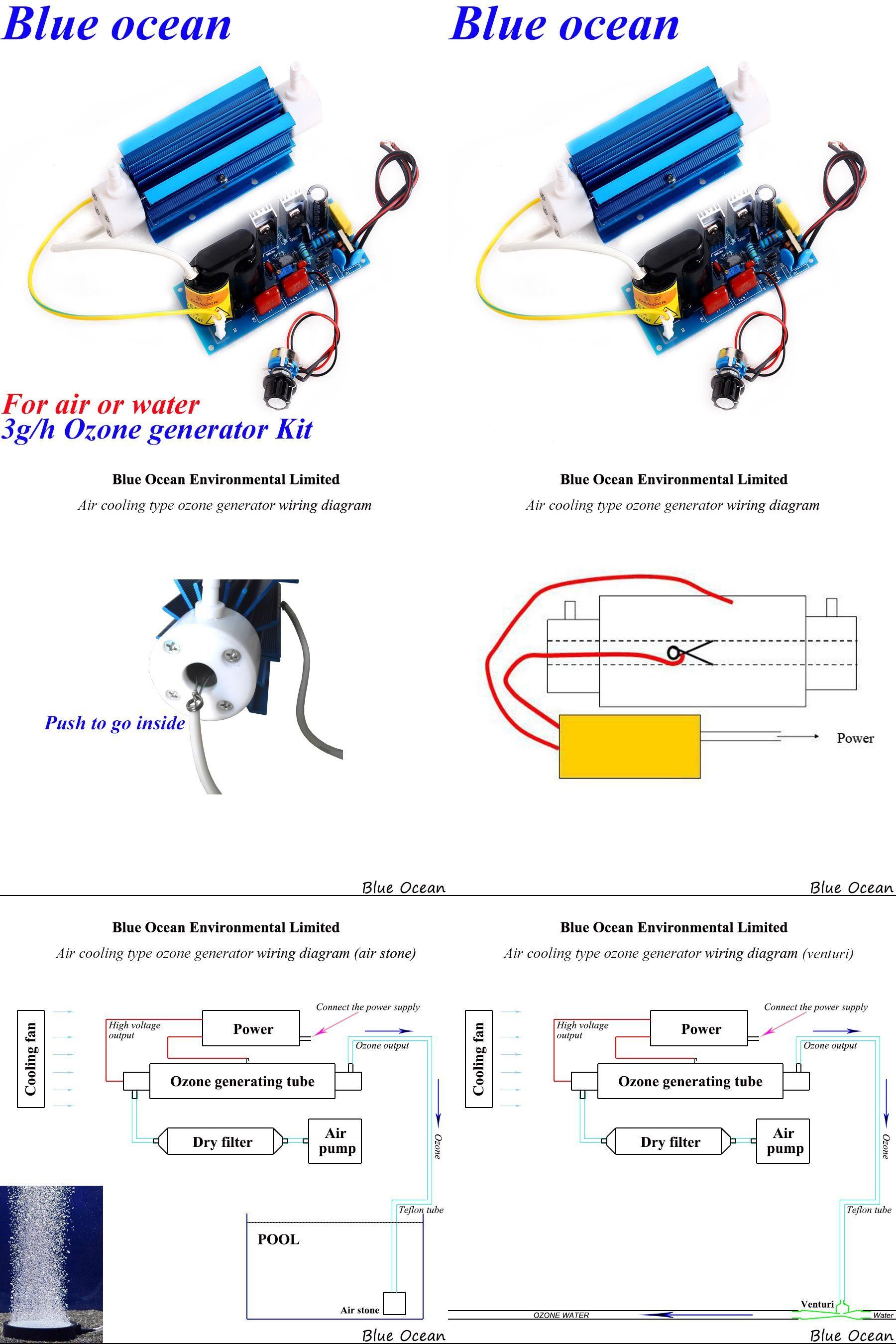 hight resolution of  visit to buy free shipping ac200v ac240v ac100v ac120v adjustable 3g quartz tube type ozone generator kit for water advertisement
