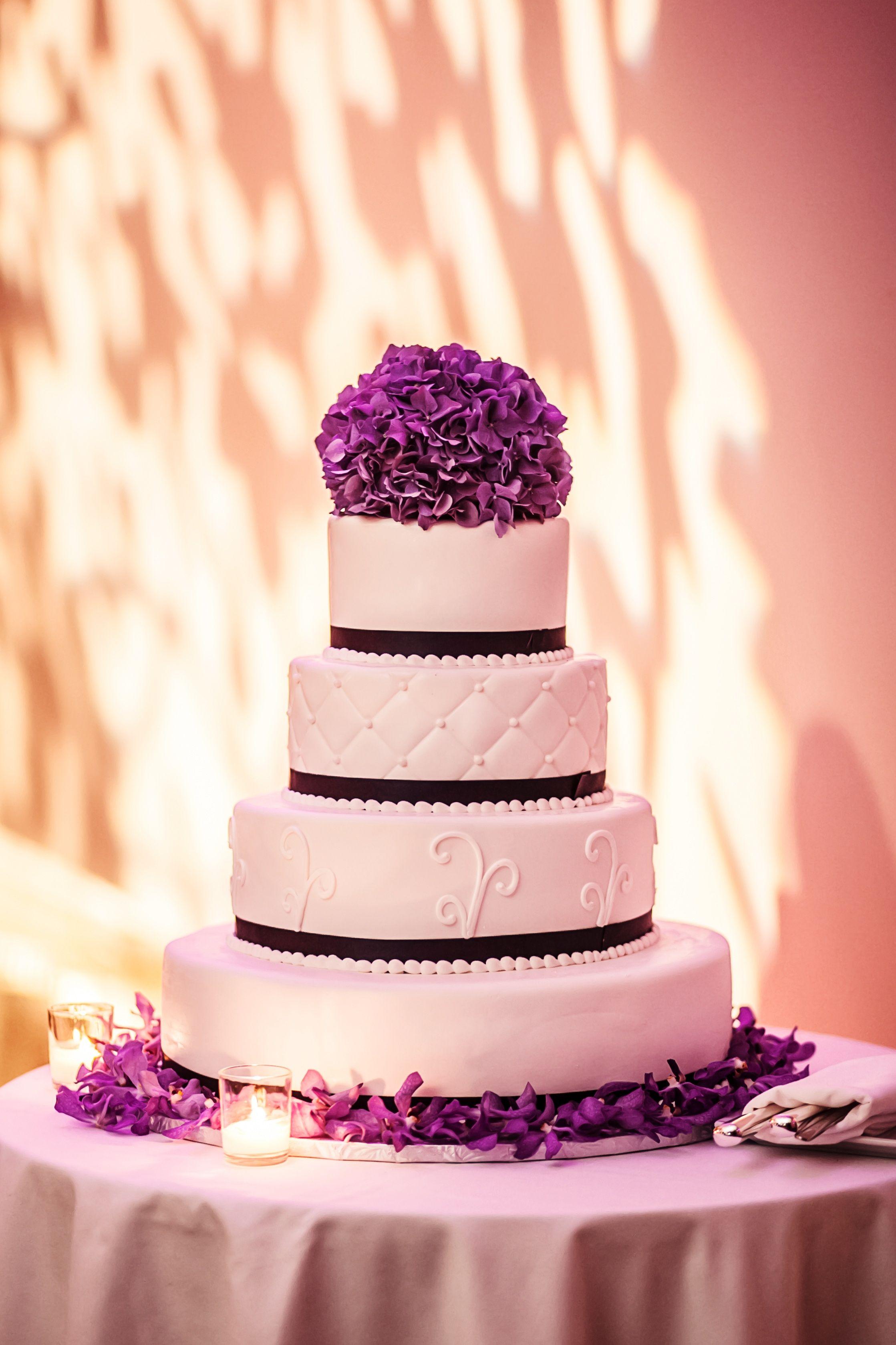 Four Tier Wedding Cake | Jayd Gardina Photography | Theknot.com ...