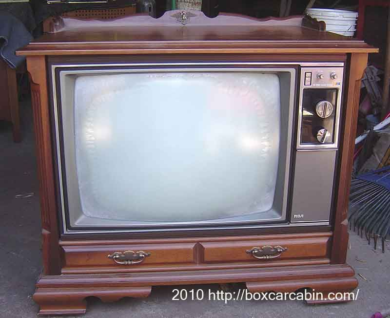 Old Console Tv ~ Rca xl solid state console quot tv this is our exact