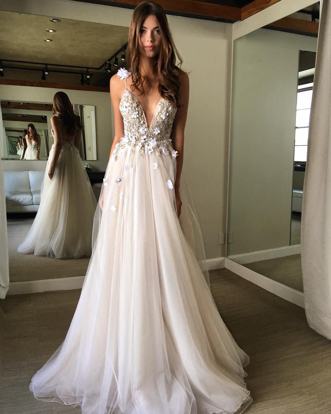 Musebyberta Nyc Trunk Show Happening This Weekend At Lfaybridal At New York New York Wedding Dresses Wedding Dresses Romantic Colorful Prom Dresses
