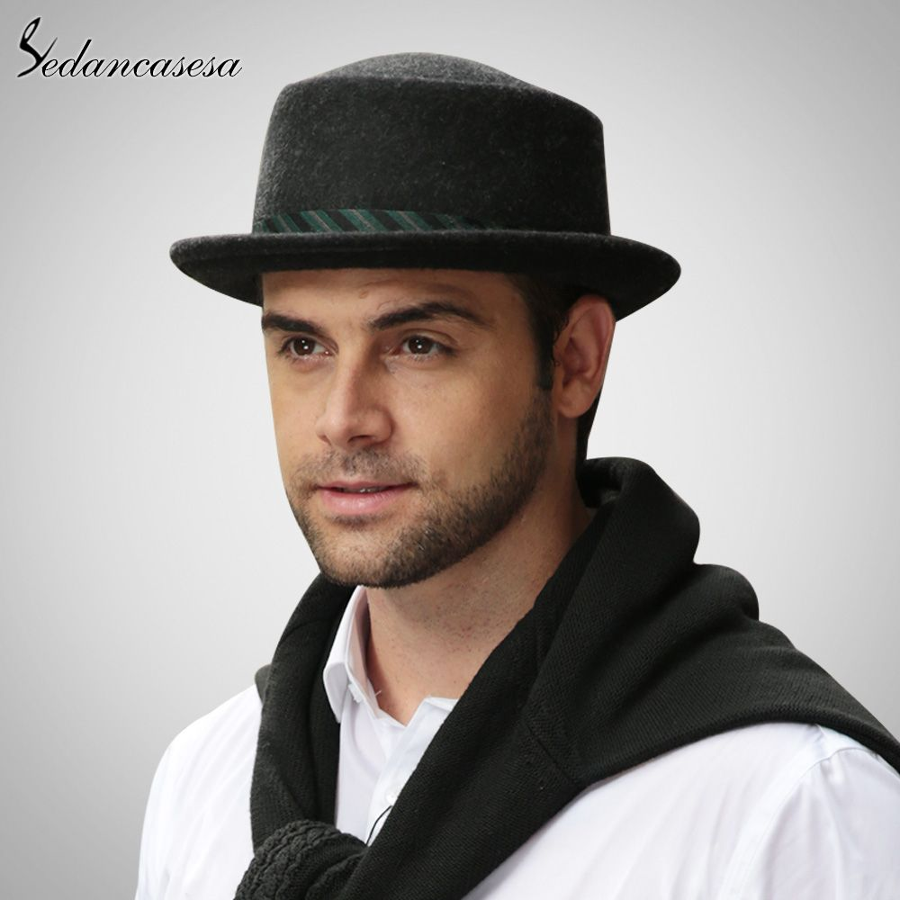 44b038852d Male Fedora Hat Classic Style For Formal Church Hat With Australian Wool  felt Hats for Men Oh just take a look at this! #shop #beauty #Woman's  fashion ...