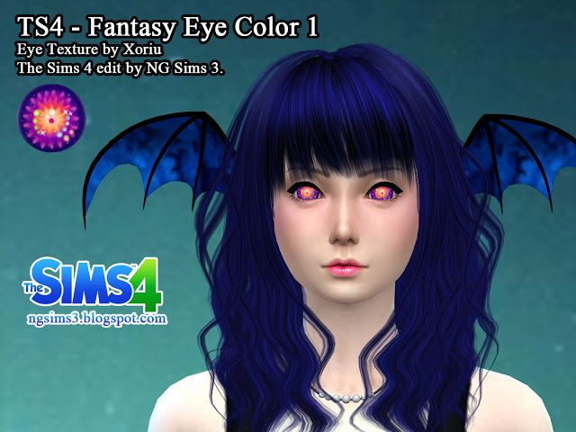 Sims 4 CC's - The Best: Fantasy Eye Color by NG Sims