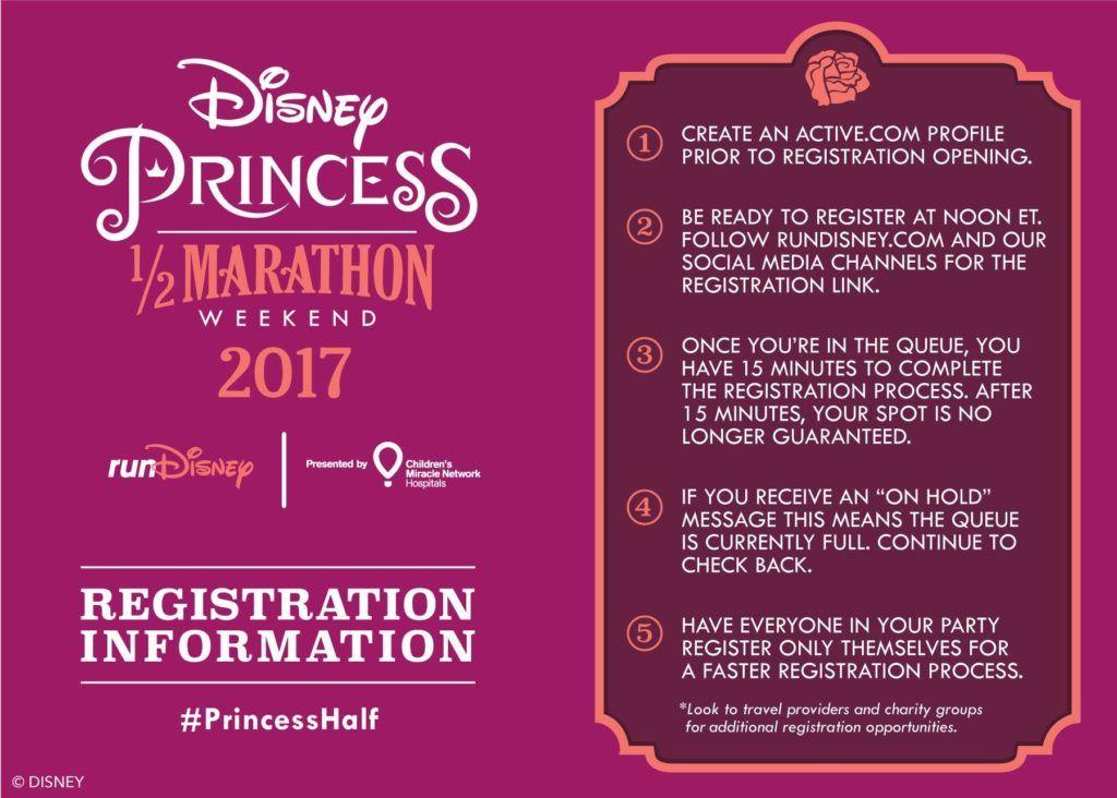 Its that time of year again! runDisney Princess Half Marathon ...
