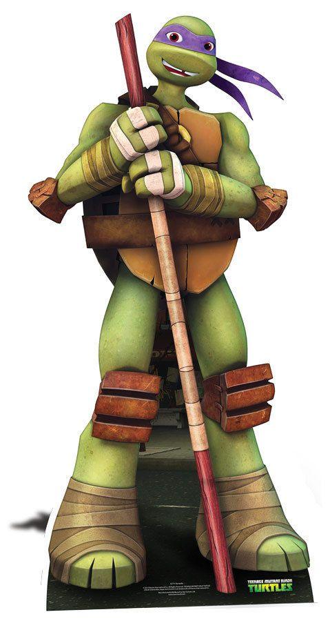 Donatello (tortues Ninja) : donatello, (tortues, ninja), Donatello, Teenage, Mutant, Ninja, Turtles, Lifesize, Cardboard, Cutout, Standee, Standup, Nickelodeon, Series, Turtles,, Turtle,, Turtle, Birthday