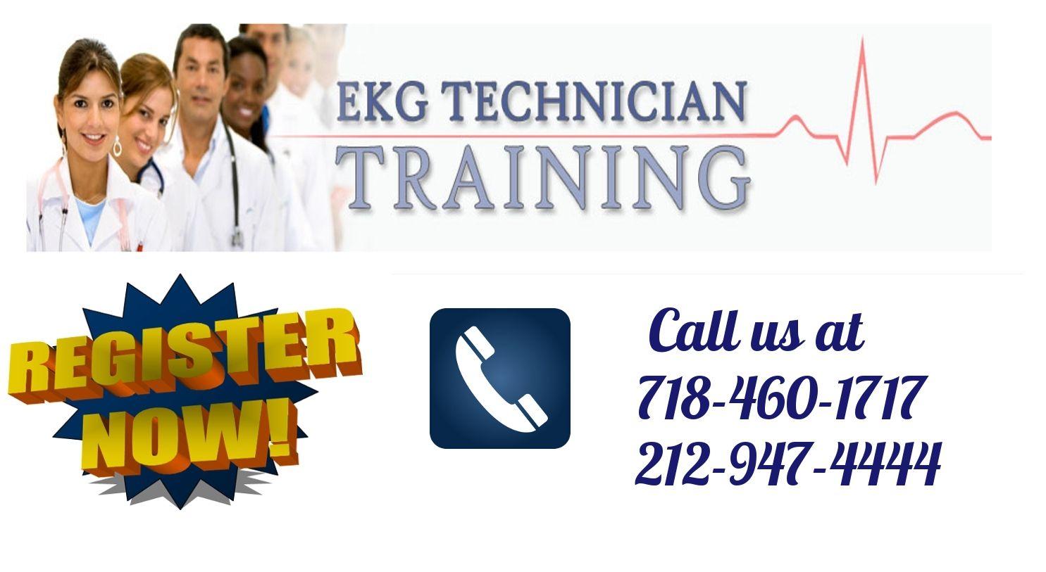 Registration is open for ekg technician training in