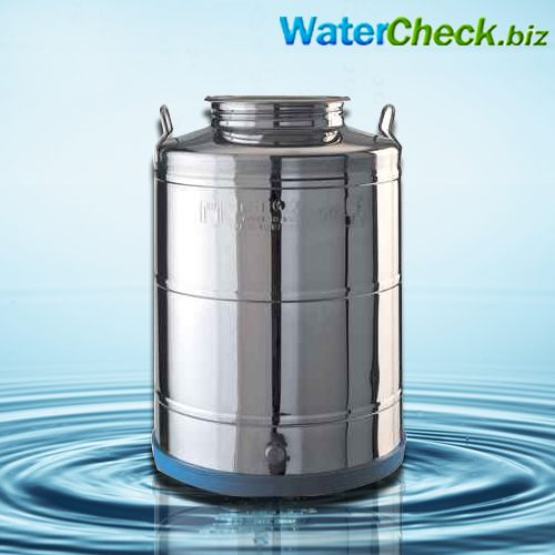 Our 50 Liter Capacity Minox Stainless Steel Water Dispenser Fusti Can Be Used To Store Transport And Dispense W Water Dispenser Steel Water Water Purification