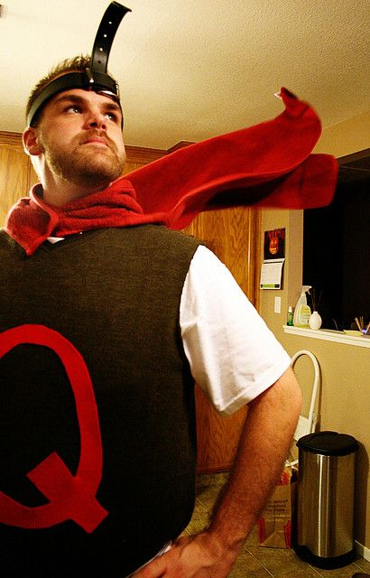 Yes! - Quail Man SHUT THE FRONT DOOR THIS IS AWESOME ... Quailman Costume