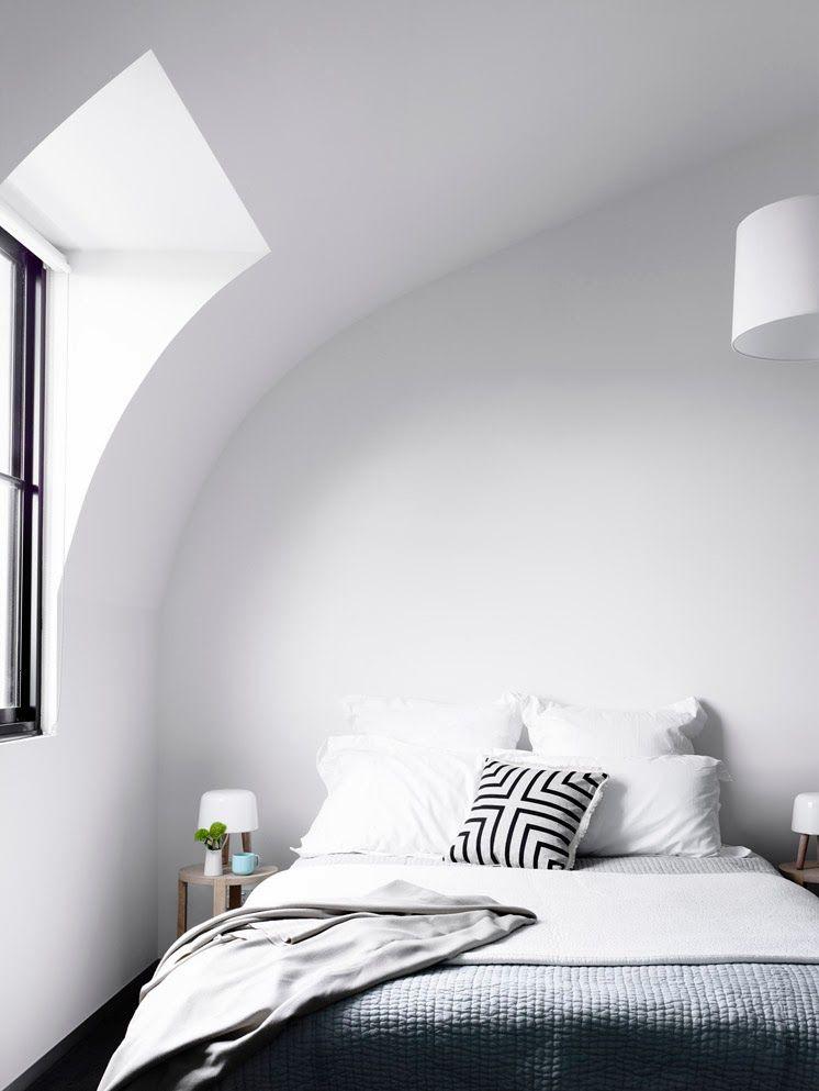Curved Bedroom | Bedroom | Pinterest | Camera da letto, Arredamento ...