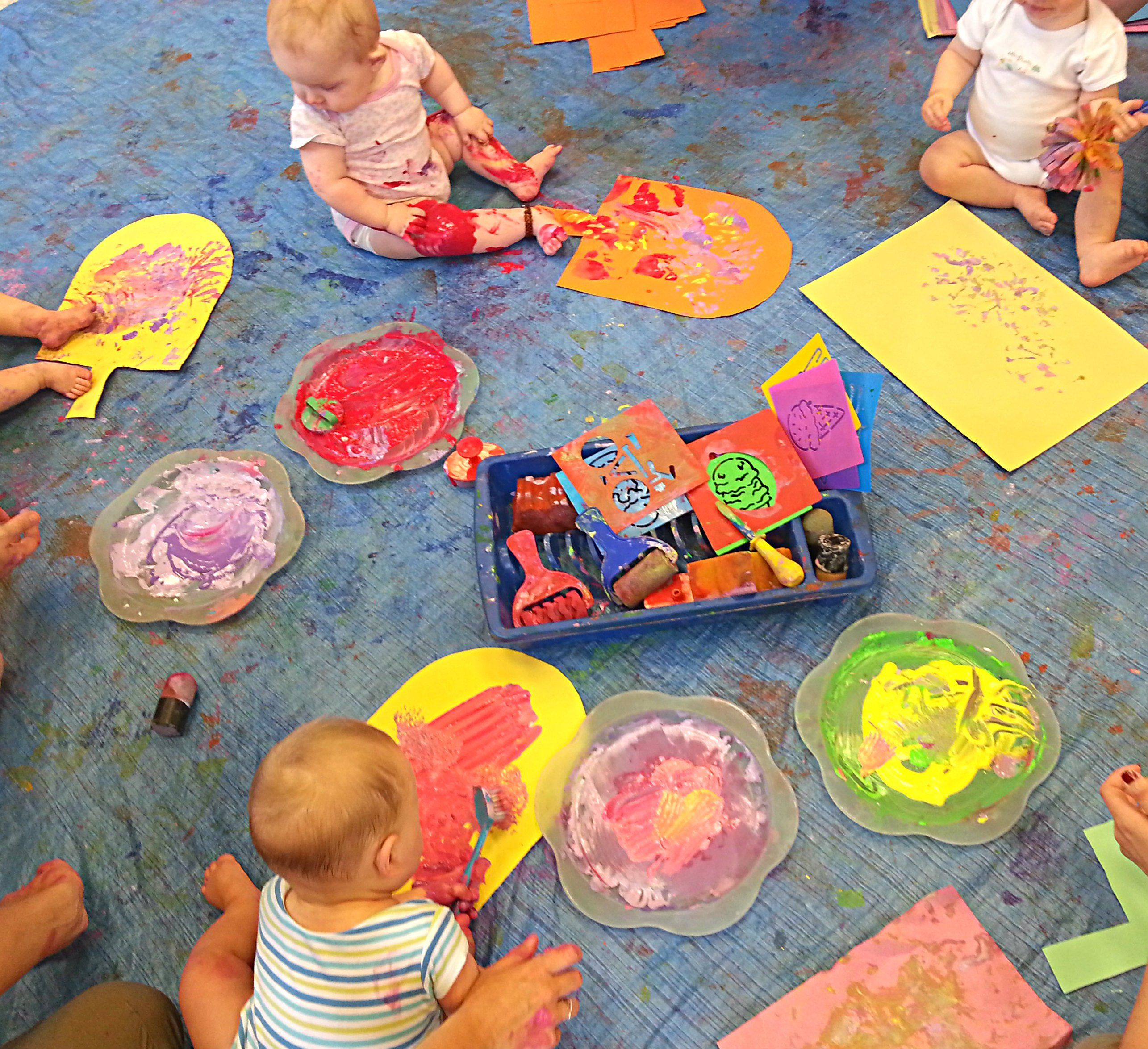 Image Result For Developing Creative Art Skills In Infant