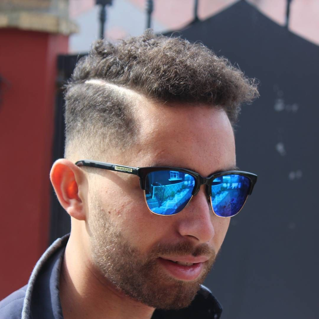 Shaved sides haircut men the best curly hair haircuts  hairstyles for men  guide