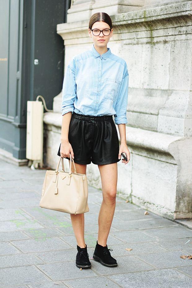 モデルファッションスナップ★Valeria Sesticの『ギークルック』が大好評