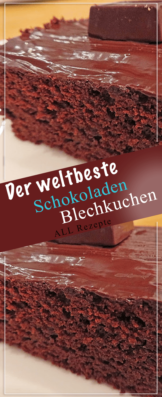 The World's Best Chocolate Sheet Cake. # Cooking #Recipes #Simply # Delicious