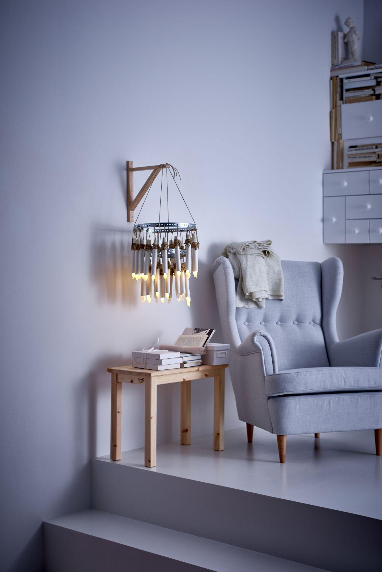 kerze led ljusande batteriebetrieben naturfarben home. Black Bedroom Furniture Sets. Home Design Ideas