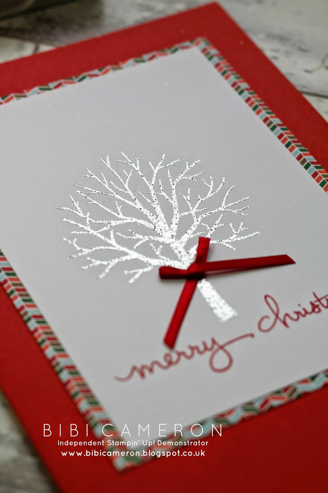 Sheltering Tree + Endless Wishes Stampin up ♥ Christmas Card