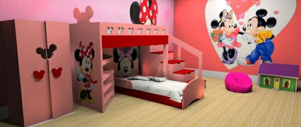 I Wanted To Know The Prize Of Minnie Mouse Bunk Bed