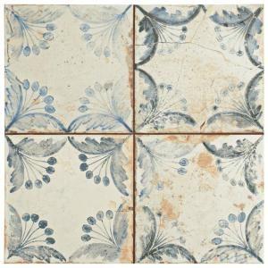 Merola Tile Oldker 13 in. x 13 in. Ceramic Floor and Wall Tile (12.2 ...