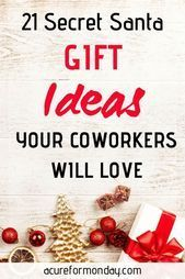 21 Best Secret Santa Gift Ideas For Coworkers (Under $25) - Creative Christmas (...,  #Christ... #secretsantagiftideas 21 Best Secret Santa Gift Ideas For Coworkers (Under $25) - Creative Christmas (...,  #Christmas #christmasideasforcoworkers #coworkers #creative #Gift #ideas #Santa #secret #secretsantagiftideas
