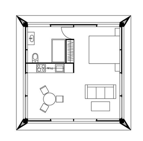 Diseño De Casas Pequeñas Planos Diseño Casas Pequeñas Casas Prefabricadas Casas Pequeñas