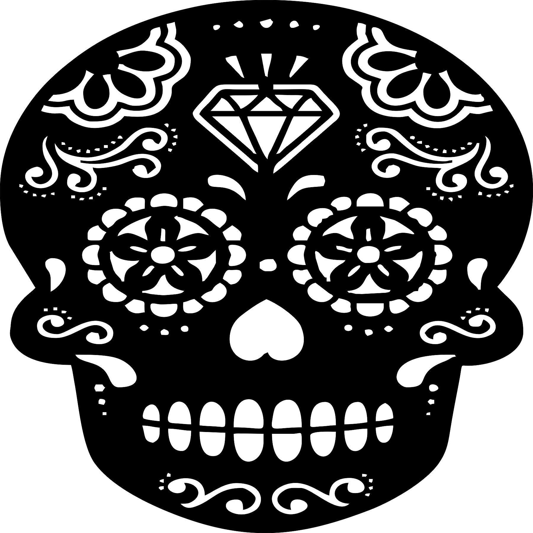 skull4 Laser Cut Vinyl Record artist representation