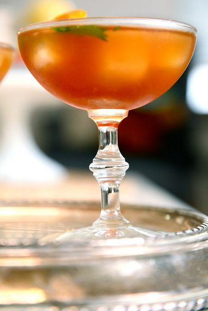 sweet tea bourbon cocktails
