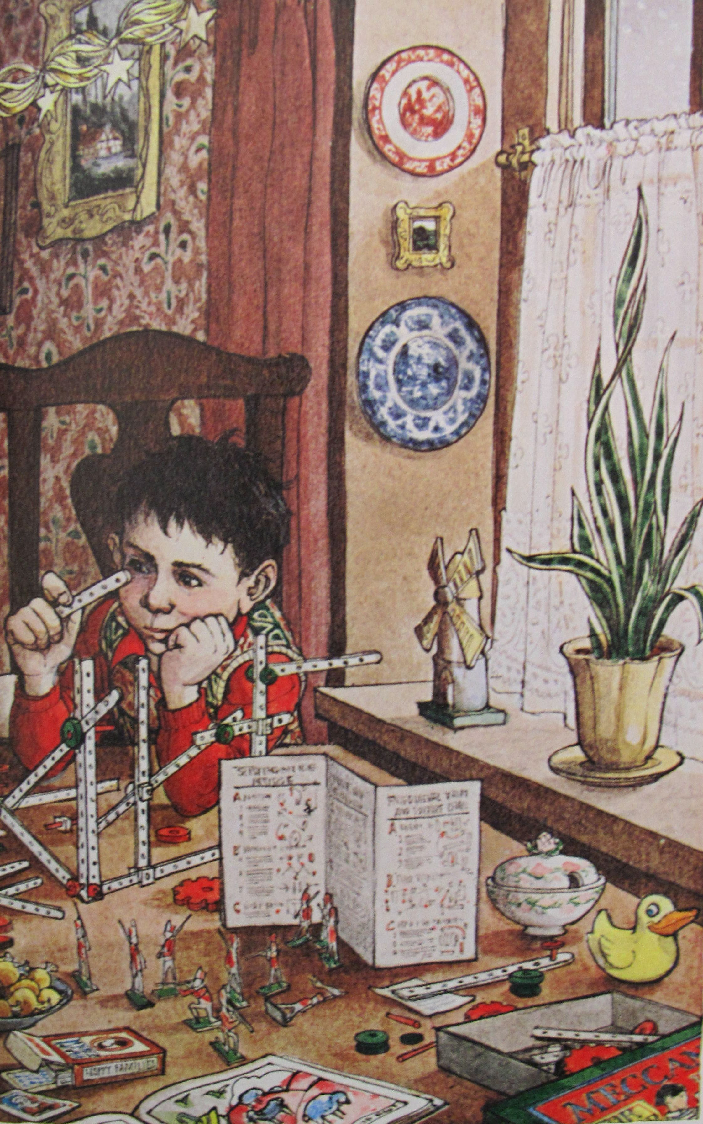 A Childs Christmas In Wales.Trina Schart Hyman From A Child S Christmas In Wales