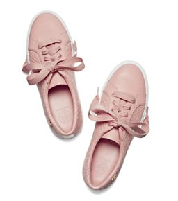 8aee9652b8e Sachet Pink Tory Burch Marion Quilted Sneaker