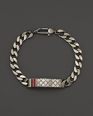 07c8faf9e Gucci Men's Bracelet with Diamantissima Motif | Bloomingdale's ...