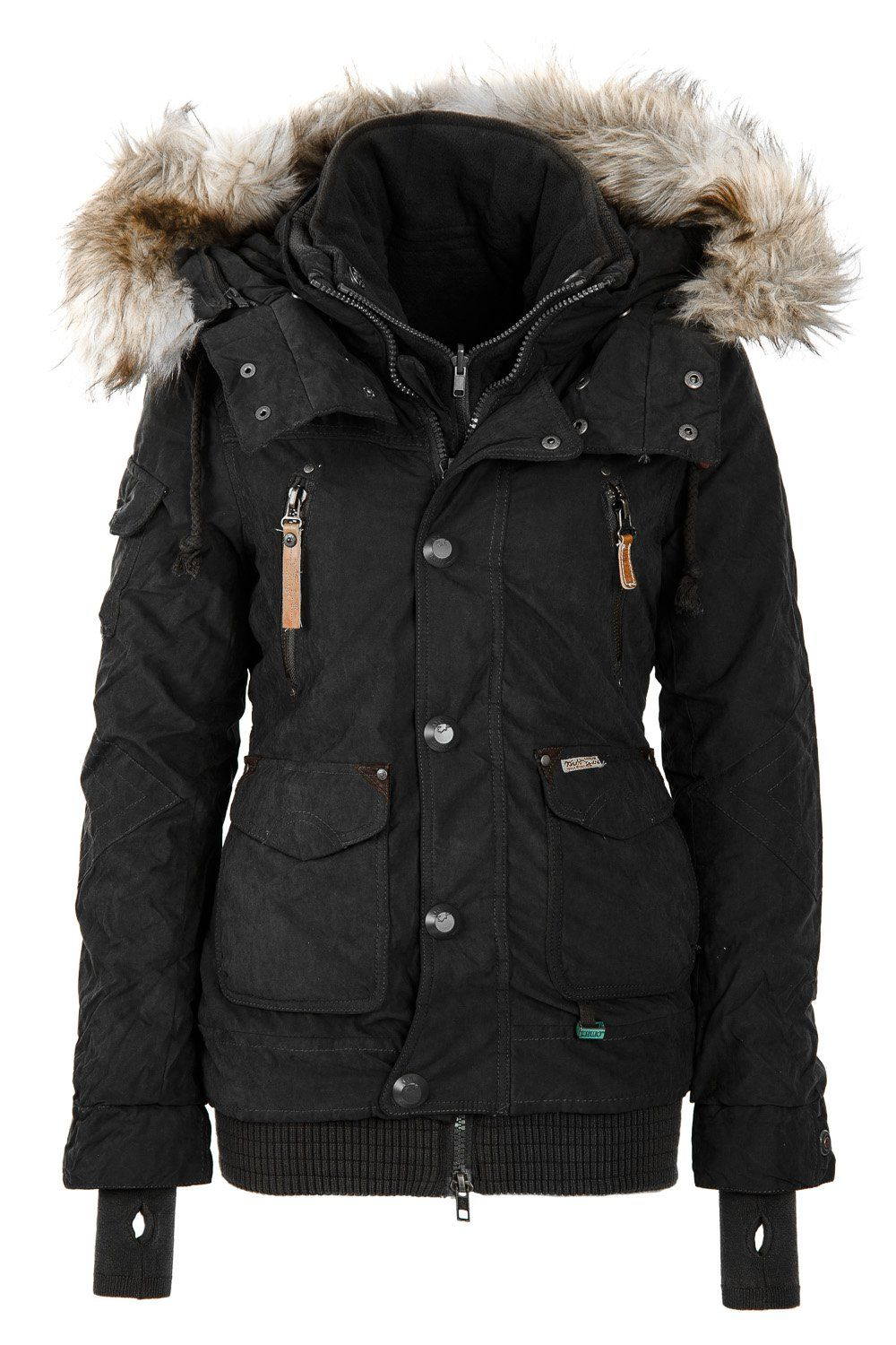 Best Womens Parka Coat - JacketIn