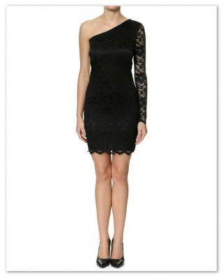 16c6503241f6 lækker kort sort tinny dress
