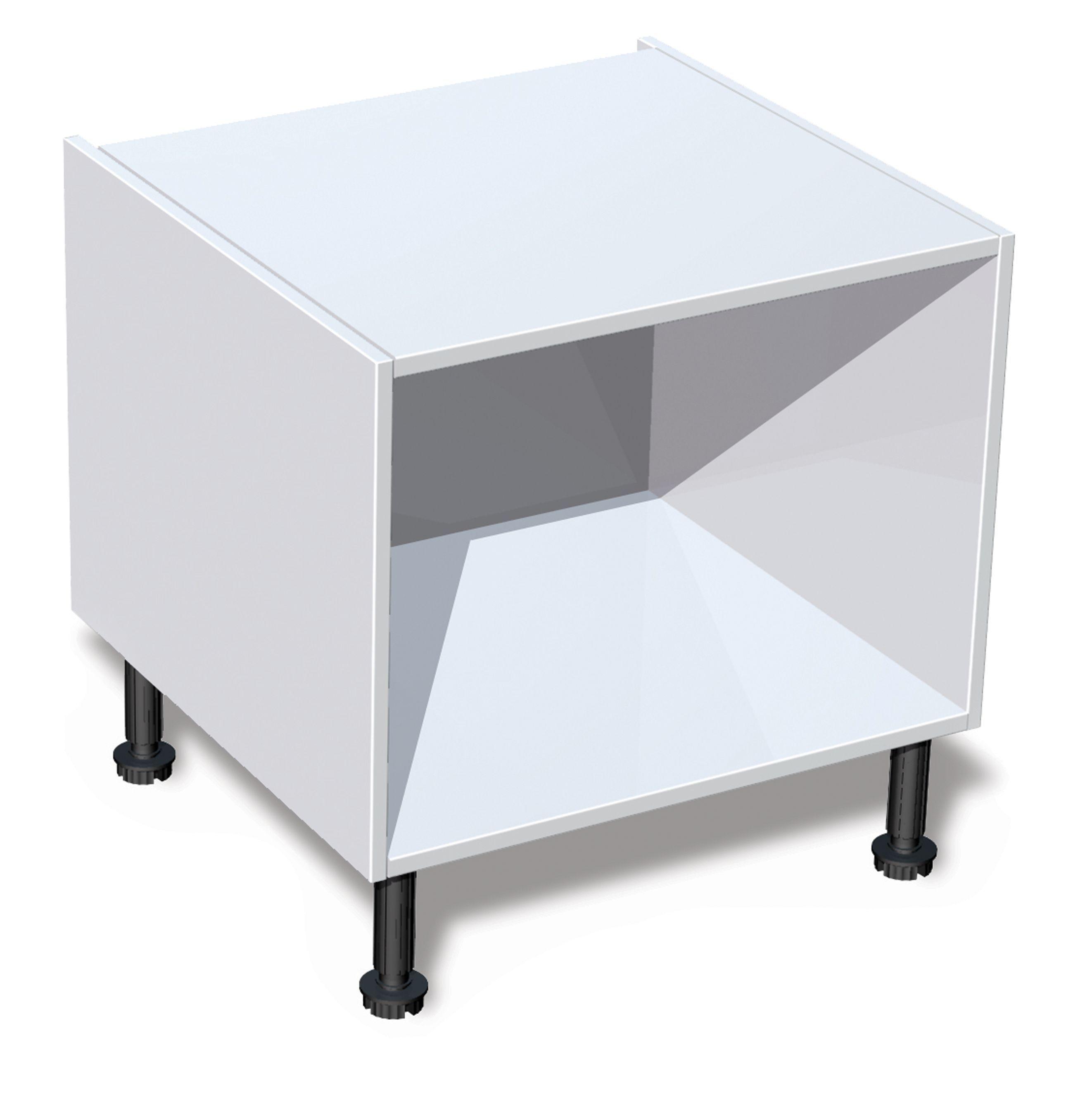 IT Kitchens White Belfast Sink Base Cabinet (W)600mm | Departments ...