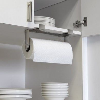 Umbra Mountie Stainless Steel Kitchen Paper Towel Holder