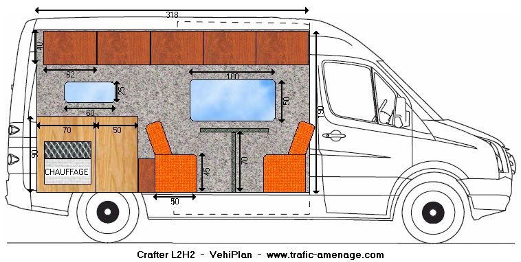 r sultat de recherche d 39 images pour crafter am nagement interieur pour camping car camion. Black Bedroom Furniture Sets. Home Design Ideas