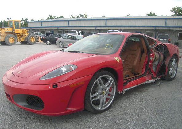 Wrecked Cars For Sale >> Repairable Salvage Ferrari F430 F1 Ferrari F430 Ferrari