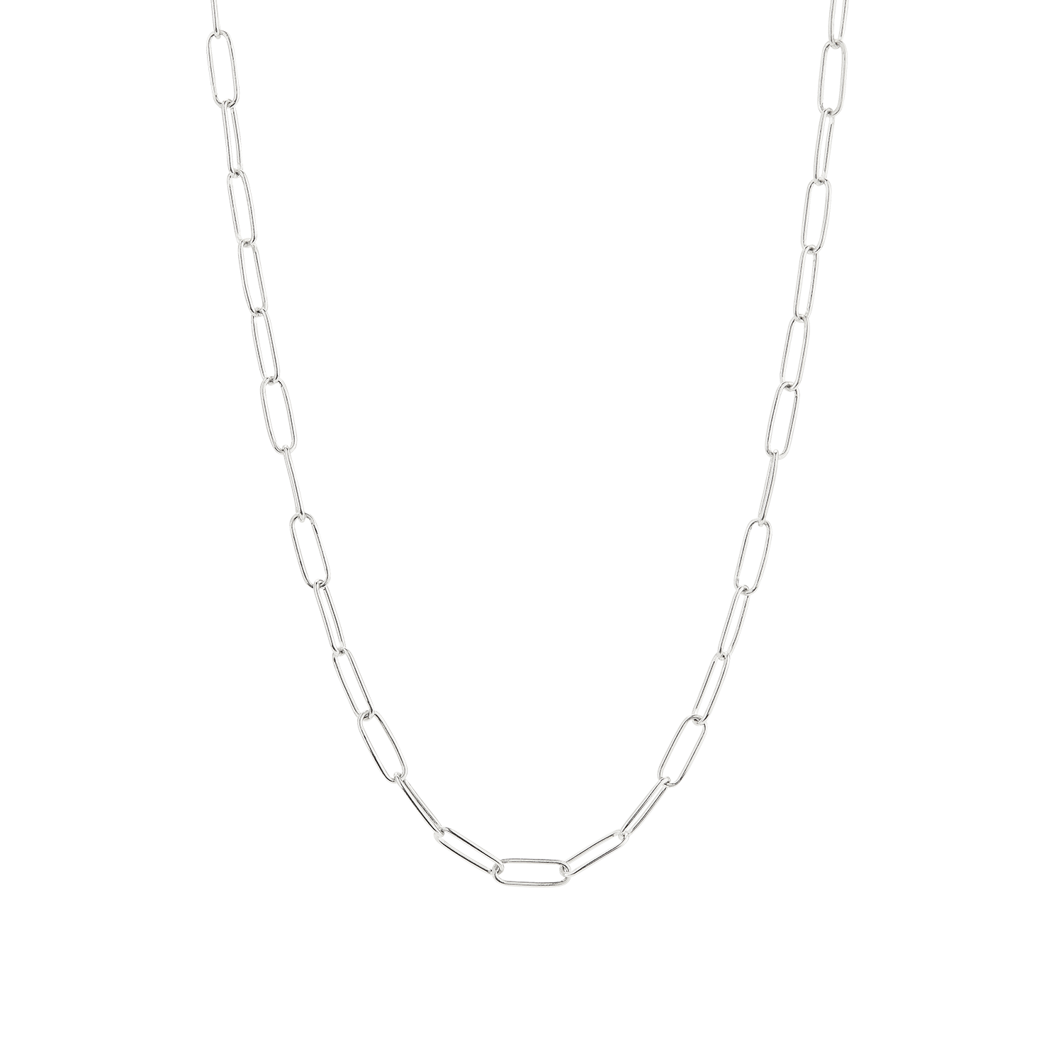 Bold Link Chain Necklace Silver Chain Link Necklace Silver Chain Necklace Silver Necklaces