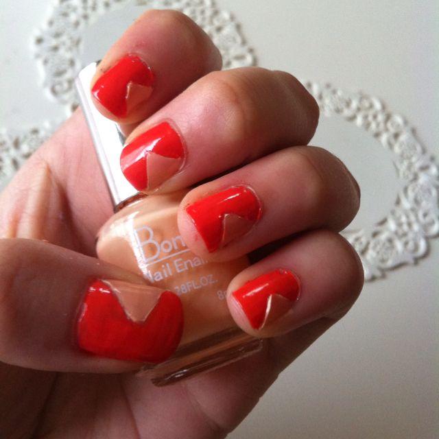 Orange nails!