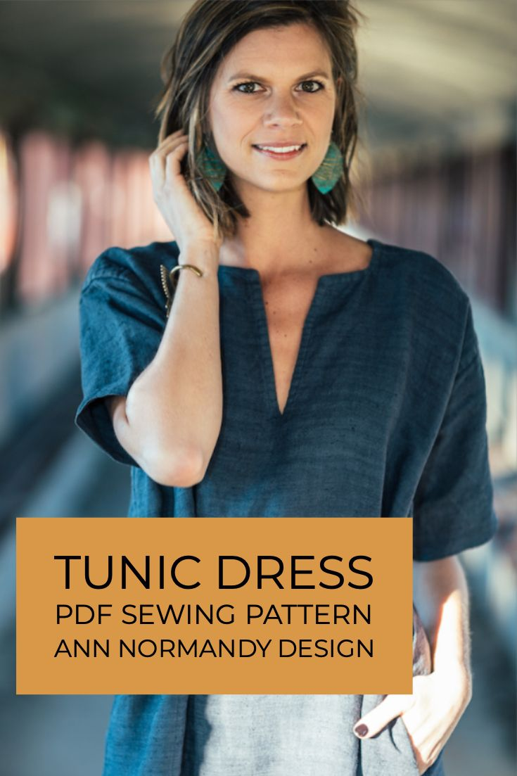 Tunic Pattern #tunicdresses