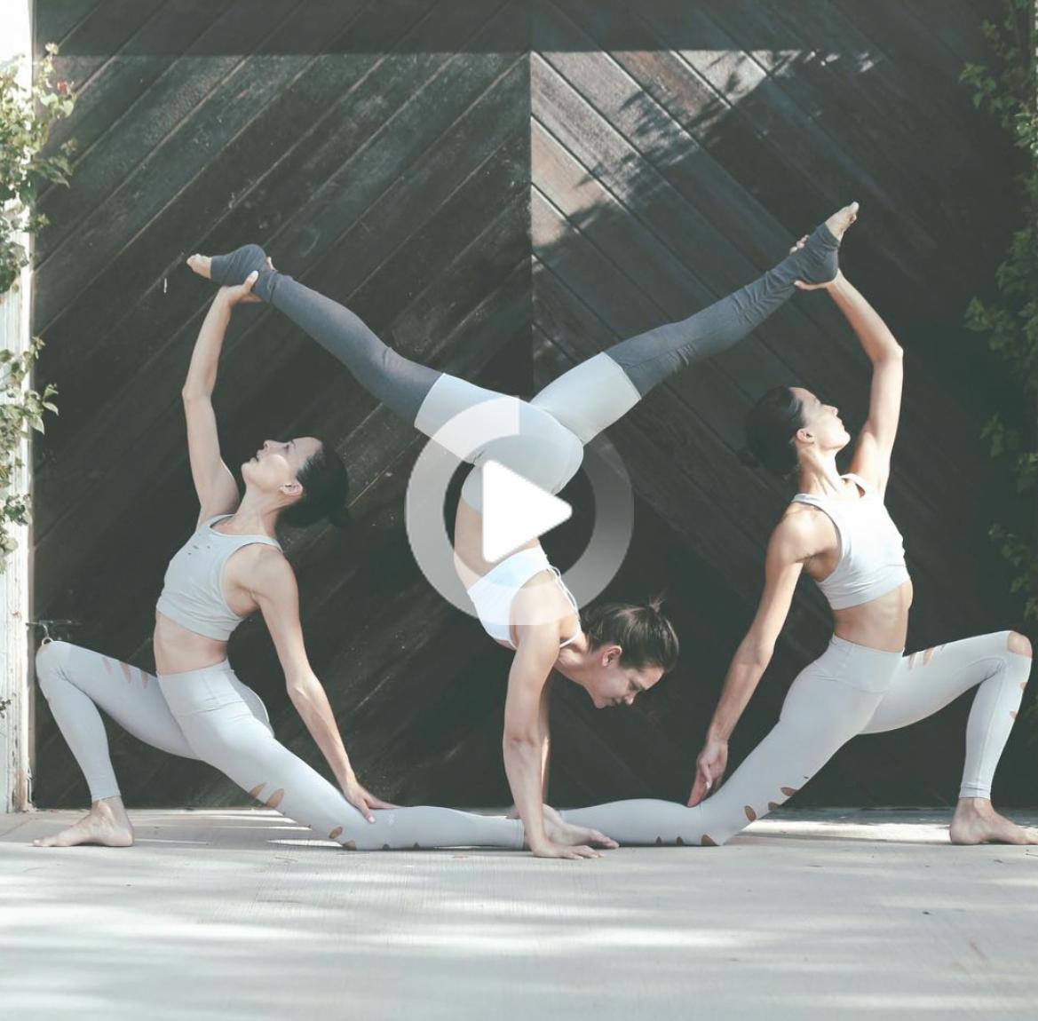 Pin On Partner Yoga Yoga Challenge Poses Group Yoga Poses Partner Yoga Poses