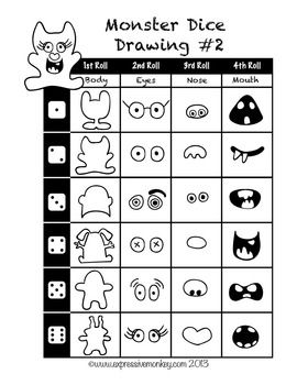 how to draw cartoon worksheet