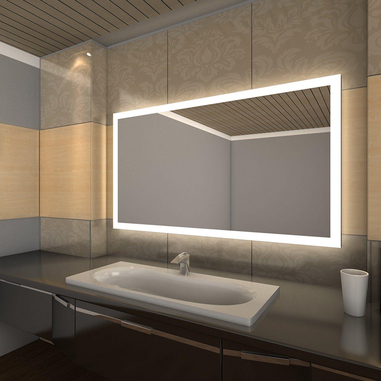 Hope Led Badspiegel Mit Beleuchtung Made In Germany Breite 120 Cm X Hohe 80 Cm Amazon De Kuche Amp Haushal Badspiegel Beleuchtung Badezimmerspiegel