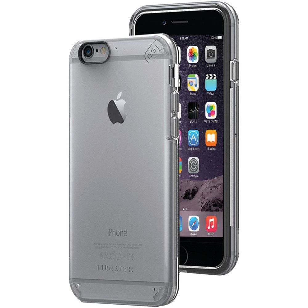 PURE GEAR 11064VRP iPhone(R) 6/6s Slim Shell PRO Case (Clear/Clear)